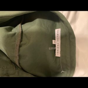 English Factory Jackets & Coats - English factory light weight green jacket